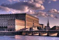 Royal Palace, Stockholm. HDR image of the Royal palace in Stockholm Royalty Free Stock Photo