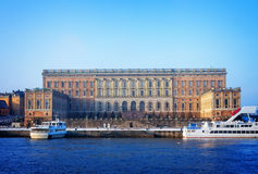 Royal palace, Stockholm Royalty Free Stock Photography