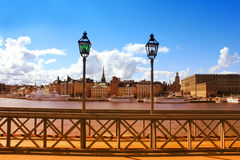 The Royal Palace in Stockholm, Sweden Stock Photography
