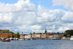 The Royal Palace in Stockholm, Sweden Stock Image