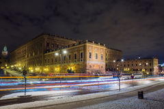 Royal Palace in Stockholm, Sweden Royalty Free Stock Photo
