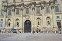 Royal palace in Stockholm, Sweden. Royalty Free Stock Photo