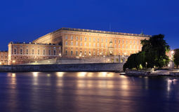 The Royal Palace of Stockholm Sweden Royalty Free Stock Image