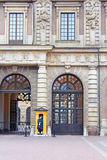 The Royal Palace of Stockholm, Sweden Royalty Free Stock Photos