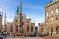 Royal Palace in Stockholm, Sweden Stock Image