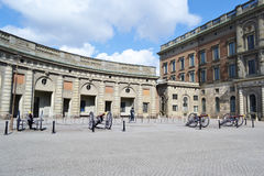 Royal palace in Stockholm, Sweden. Royalty Free Stock Image