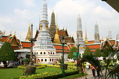 Royal Palace suddivide in zone a Bangkok Fotografia Stock Libera da Diritti