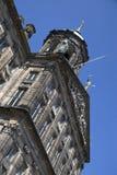 Royal Palace sulla diga quadra a Amsterdam Fotografia Stock Libera da Diritti