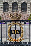 The Royal Palace of Sweden Stock Photography