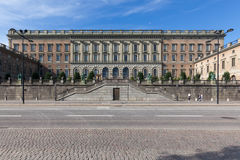 The Royal Palace of Sweden Stock Images
