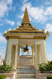 Royal Palace temple statue Royalty Free Stock Photography