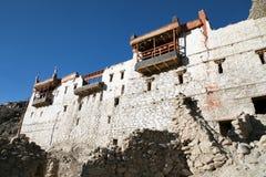 Royal palace in Tiger or Tiggur village in Nubra valley Stock Photo
