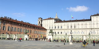 Royal Palace, Torino, Italia Fotografia Stock