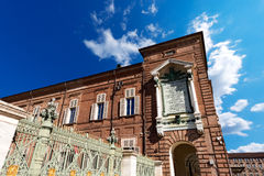 Royal Palace - Torino Italy Royalty Free Stock Image