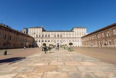Royal Palace - Torino Turin Italy Stock Images