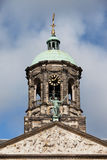 Royal Palace Tower in Amsterdam Royalty Free Stock Photography