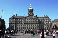 The Royal Palace (Town Hall), Amsterdam. Royalty Free Stock Photos