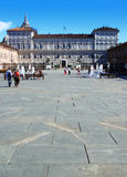 Royal Palace, Turin Royalty Free Stock Photos