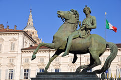 Royal Palace in Turin Stock Photography