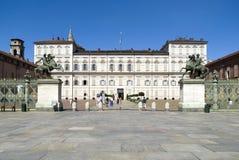 Royal Palace of Turin Royalty Free Stock Photos
