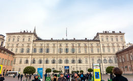 Royal Palace in Turin, Italy Stock Image