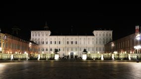 Royal Palace of Turin Stock Images