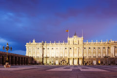Royal Palace in  twilight time Royalty Free Stock Photography