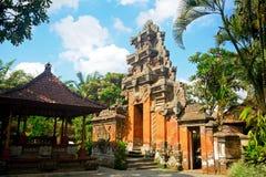 Royal palace, Ubud, Bali, Indonesia Royalty Free Stock Photos