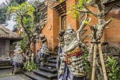 Royal palace, Ubud, Bali, Indonesia royalty free stock photography