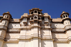 Royal Palace, Udaipur. Royalty Free Stock Images