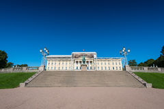 The Royal Palace under construction Royalty Free Stock Photography