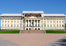 Royal Palace under reconstruction Oslo Royalty Free Stock Photos