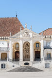Royal Palace in the University of Coimbra, Portugal Royalty Free Stock Photography