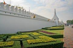 Royal Palace vägg Royaltyfria Bilder