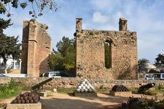 Royal Palace vénitien dans Famagusta photos stock