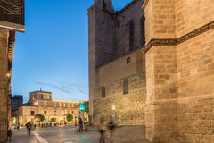 Royal palace Valladolid Royalty Free Stock Images