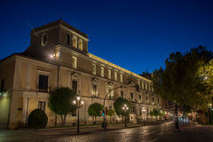 Royal palace Valladolid Stock Photography
