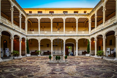 Royal palace Valladolid Stock Photo