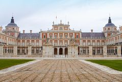 Royal Palace van Aranjuez Stock Foto