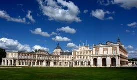 Royal Palace van Aranjuez, Madrid royalty-vrije stock fotografie