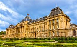 Royal Palace van Brussel stock afbeeldingen