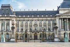 Royal Palace van Brussel in Brussel, België royalty-vrije stock afbeelding