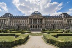 Royal Palace van Brussel in België Royalty-vrije Stock Afbeeldingen