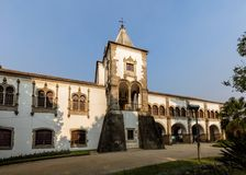 Royal Palace van Evora, Portugal Stock Afbeelding