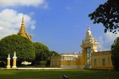Royal Palace van Kambodja #9 Royalty-vrije Stock Foto's
