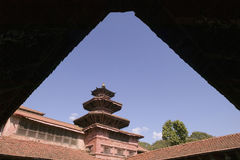 Royal Palace van Patan in Nepal Royalty-vrije Stock Afbeelding