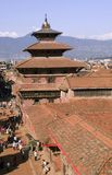 Royal Palace van Patan in Nepal Stock Afbeelding