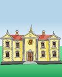 Royal palace vector Stock Image
