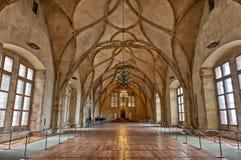 Royal Palace velho, Praga, República Checa imagem de stock
