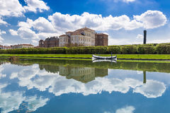 The Royal Palace of Venaria Stock Images